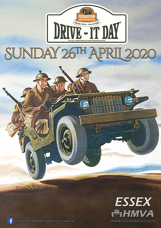 2020 Drive it Day Poster